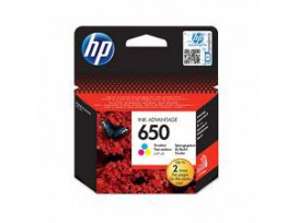 HP Oригинална мастилница CZ102AE / 650 Tri-color