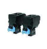 Epson AL-C3900N/CX37DN series Double Toner Cartridge Pack Black 6kx2