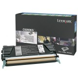 Lexmark C520, C530 Black Return Programme Toner Cartridge (1.5K)