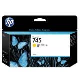 HP 745 130-ml Yellow Ink Cartridge