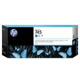 HP 745 300-ml Cyan Ink Cartridge