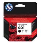 HP Оригинална мастилница C2P10AE / 651 BK