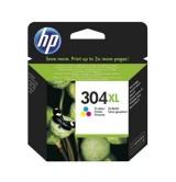 HP - Оригинална мастилница 304XL Tri-color, N9K07AE