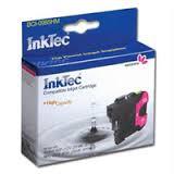 Мастилница INKTEC, Brother LC1100M/980M/67M/65M/61M/38M, Червен