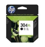 HP - Оригинална мастилница 304XL Black, N9K08AE