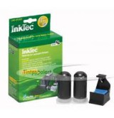 Рефил INKTEC за Lexmark 9100D, 2 x 20 ml, Черен